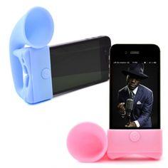 Amplificateur personnalisable pour iPhone 4 ou 5 rétro - Objet publicitaire
