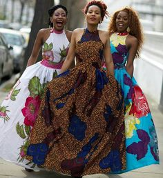 [New] The 10 Best Fashion Ideas Today (with Pictures) - Bold Ankara patterns gurly long gowns.stylish and easy to wear. Any style can be urs for just small amount. African Bridesmaid Dresses, African Print Dresses, African Dresses For Women, African Print Fashion, African Attire, African Wear, African Fashion Dresses, African Women, Afro
