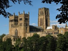 Durham Cathedral - founded in 1093, regarded as the finest example of Norman architecture in Europe. Designated UNESCO World Heritage Site