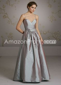 Graceful Ruched A-Line Spaghetti Straps Floor-Length Bridesmaid Dresses