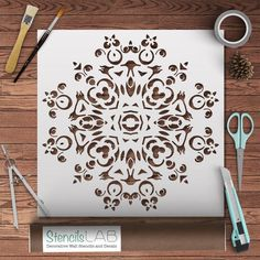 Mandala Stencil For DIY: