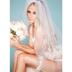 The Priscilla wedding garter, available from www.lagartier.com