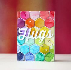 Simon Says Stamp - Perfect Shape Hugs! By Laura Bassen!