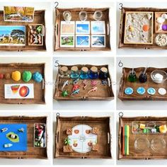 The Pinay Homeschooler: Montessori Inspired Activities for Earth Science Montessori Trays, Montessori Science, Montessori Classroom, Montessori Materials, Science Classroom, Montessori Homeschool, Classroom Tools, Continents Activities, Earth Science Activities