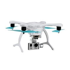 Ehang GHOSTDRONE 20 Aerial with 4K Sports Camera iOSAndroid Compatible WhiteBlue ** More info could be found at the image url. Note: It's an affiliate link to Amazon