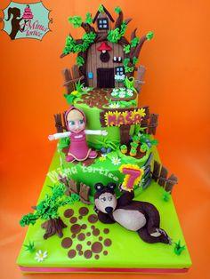 Masha and the bear cake........ Maša i medved torta