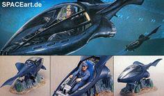 SeaQuest: Stinger, Modell-Bausatz, http://spaceart.de/produkte/seq003.php