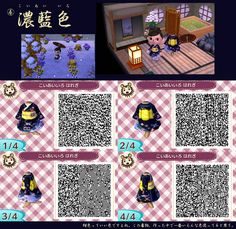 Animal Crossing New Leaf QR codes haregi