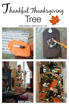 Debbie Doos blog post Thanksgiving Thankful tree http://shrx.us/QdJqg0ob via bHome https://bhome.us