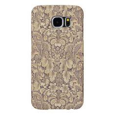 Elegant Vintage Floral Pattern #1 Samsung Galaxy S6 Cases