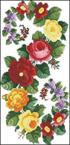 Counted Cross Stitch Pattern P |