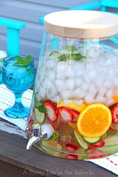 Easy and Delicious Flavoured Waters