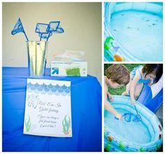 Under the Sea Water Party via Kara's Party Ideas Kara'sPartyIdeas.com #SeaCreatures #PartyIdeas #Supplies #Ocean #WaterFight #SummerPartyIdea (19)
