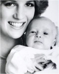 Diana and baby William