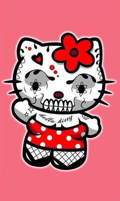 Day of the Dead Kitty by Andrew Hunter (yayzus)