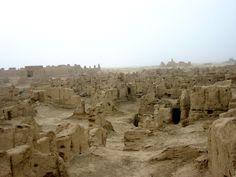 ruined desert city