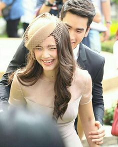 Panda Wallpapers, Thai Drama, Sweet Couple, Celebrity Couples, Gossip Girl, Bearded Men, Actors & Actresses, Princess, Celebrities