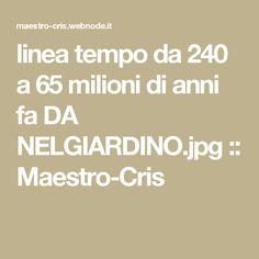 linea tempo da 240 a 65 milioni di anni fa DA NELGIARDINO.jpg :: Maestro-Cris