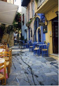 The alley - , Hania, Greece