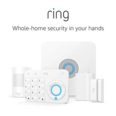 Ring Alarm 5 Piece Kit - Home Security System with optional Professional Monitoring - No long-term contracts - Works with Alexa When armed, the Ring Al Best Home Security System, Smart Home Security, Wireless Home Security Systems, Security Cameras For Home, House Security, Private Security, Ring Security, Security Alarm, Security Tips