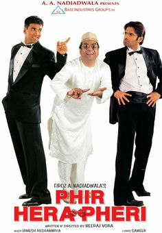 Watch Phir Hera Pheri Online Free Putlocker: Babu Rao, Raju and Shyam, are living happily after having risen from rags to riches. Still, money brings the joy of riches and with it the greed to make more money - and so, with a don as an unknowing investor, Raju initiates a new game.