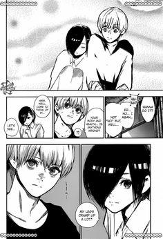 Touken Tokyo Ghoul :re Chapter 130 pg.10 (Touka and Kaneki)
