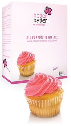 Better Batter flour. Light and usable in all kinds of baking recipes.
