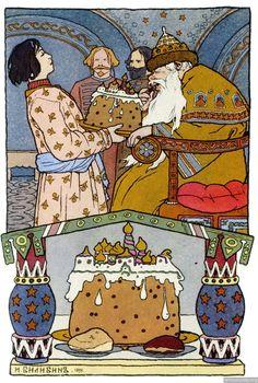 14 | Скачать подборку книжных иллюстраций знаменитого художника-иллюстратора Ивана Яковлевича Билибина | ARTeveryday.org