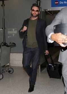 Hugh Jackman - Hugh Jackman Touches Down In Los Angeles