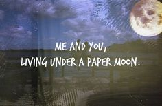 all time low - under a paper moon