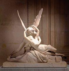 'Psyché ranimée par le baiser de l'Amour', by Antonio Canova [1787-1793] RMN Grand Palais, Musée du Louvre | Photography by René-Gabriel.