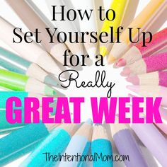 Did you know that doing a few things on the weekend can make an enormous difference in how your next week goes? It is true, and it is easier than you might think. With just a little planning ahead and prep work, you are well on your way. Here's the only checklist you need.