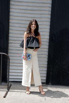 Los pantalones / falda