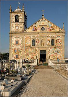 Santa Maria da Válega Church, Aveiro, Portugal