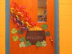 St. Patty's Day Door Deco.