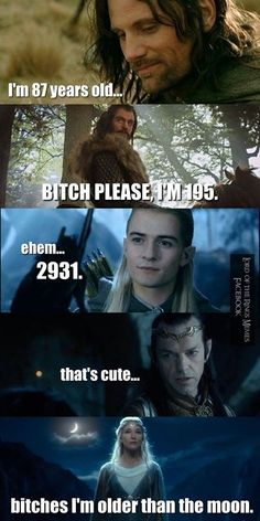 What is age? #LOTR