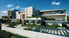 Jumairah Private Villa, Dubai, UAE on Behance