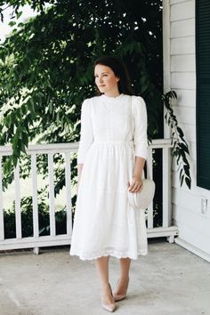 The Eyelet Lace Dress by Dainty Jewell's