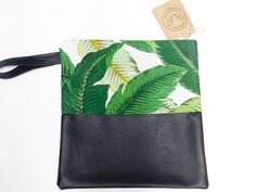 Items similar to Medium Clutch/Toiletry bag/Travel bag/Cosmetic bag-True Leaf Collection on Etsy Handmade Bags, Etsy Shop, Trending Outfits, Unique Jewelry, Collection, Vintage, Design, Handmade Handbags