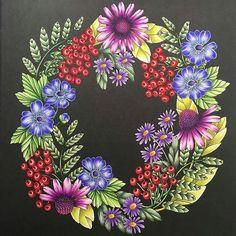 Beautiful!!!! @Regrann from @naycolours -  #mariatrolle #blomstermandala #arttherapy #adultcoloringbook #addictedtocoloring #adultcolouring #instaart #coloring #colorindo #coloriage #lapisdecor  #artecomoterapia #Regrann