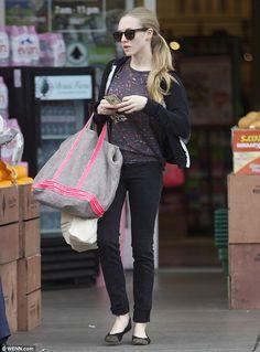 Amanda Seyfried cute and carefree