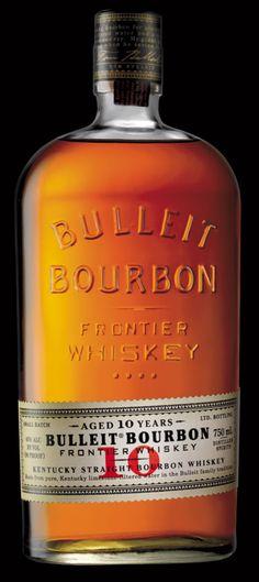 ☆ Bulleit Bourbon Frontier Whiskey Bottle ☆Aged 10 Years