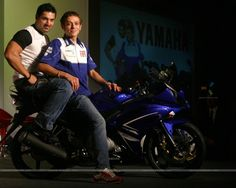 Image for Motogp World Champion Valentino Rossi And Bollywood Actor John Abraham 2