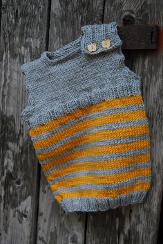 Ravelry: Magic Troll Vest pattern by Eba Design