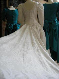 Laura Ashley Vintage Victorian Style Wedding Dress 10 | eBay