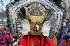 Kukeri - traditional Bulgarian ritual