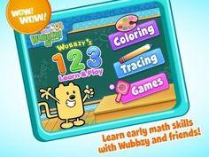 Wubbzy's 123 Learn & Play by Cupcake Digital ($1.99)