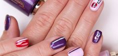 Graffiti Nails by Catherine Nail Collection; Nail Art; Nageldesign