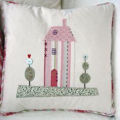 House Applique Cushion