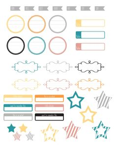 Free Print & Cut Label Sheet {Silhouette and PDF} from A Vegas Girl at Heart